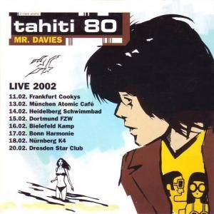 Cover - Tahiti 80: Mr. Davies