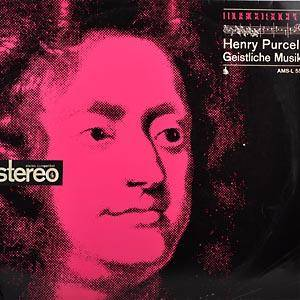 Cover - Henry Purcell: Geistliche Musik