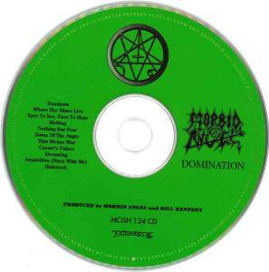 Morbid Angel: Domination (CD) - Bild 3