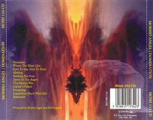 Morbid Angel: Domination (CD) - Bild 4