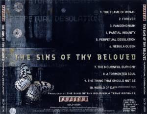 The Sins Of Thy Beloved: Perpetual Desolation (CD) - Bild 2