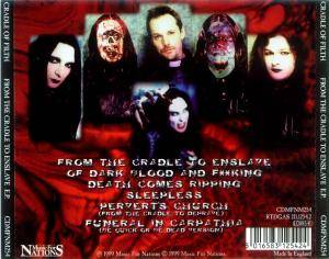 Cradle Of Filth: From The Cradle To Enslave E.P. (Mini-CD / EP) - Bild 3