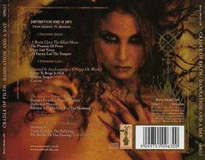 Cradle Of Filth: Damnation And A Day (CD) - Bild 2