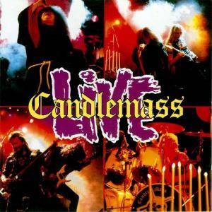 Candlemass: Live - Cover