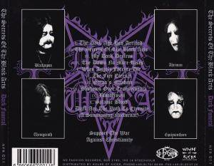 Dark Funeral: The Secrets Of The Black Arts (CD) - Bild 2
