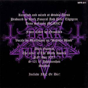 Dark Funeral: The Secrets Of The Black Arts (CD) - Bild 3