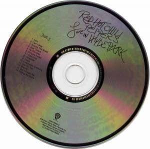 Red Hot Chili Peppers: Live In Hyde Park (2-CD) - Bild 3