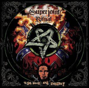 Superjoint Ritual: Use Once And Destroy - Cover