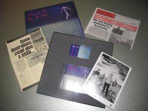 Midnight Oil: Blue Sky Mining Promo Box (CD + Tape) - Bild 1