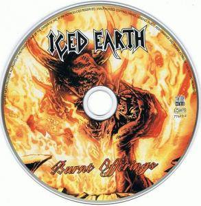 Iced Earth: Burnt Offerings (CD) - Bild 2