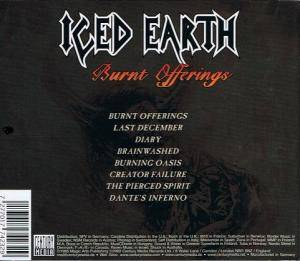 Iced Earth: Burnt Offerings (CD) - Bild 4