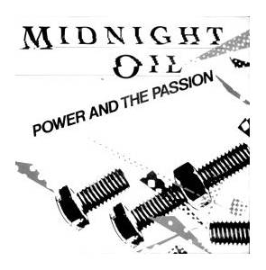 Midnight Oil: Power And The Passion - Cover