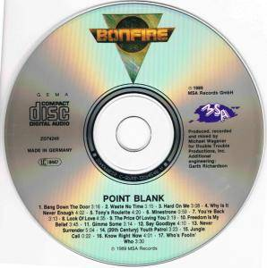 Bonfire: Point Blank (CD) - Bild 4