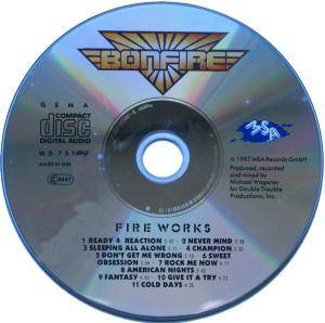 Bonfire: Fire Works (CD) - Bild 2