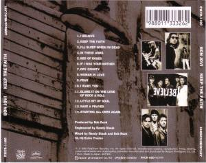 Bon Jovi: Keep The Faith (CD) - Bild 4