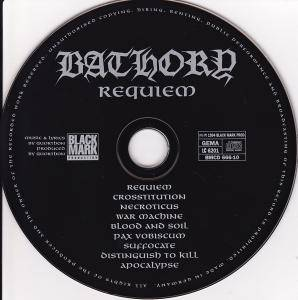 Bathory: Requiem (CD) - Bild 4