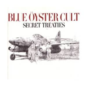 Blue Öyster Cult: Secret Treaties - Cover