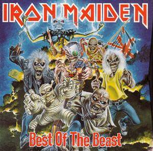 Iron Maiden: Best Of The Beast - Cover