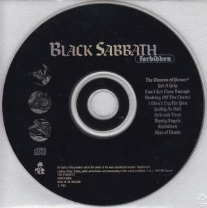 Black Sabbath: Forbidden (CD) - Bild 4