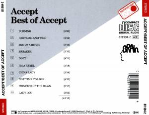 Accept: Best Of Accept (CD) - Bild 2
