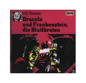 H. G. Francis: Dracula trifft Frankenstein - Cover