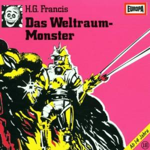 H. G. Francis: Gruselserie (18) - Das Weltraum-Monster, Die - Cover