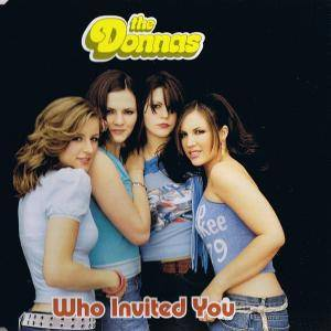 The Donnas: Who Invited You - Cover