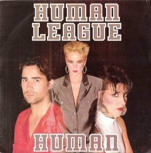The Human League: Human - Cover