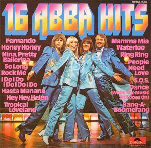 ABBA: 16 ABBA Hits - Cover