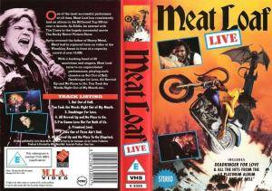Meat Loaf: Live - Cover
