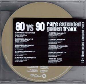 Cover - Doctor's Cat: 80 Vs 90 Rare Extended Golden Traxx