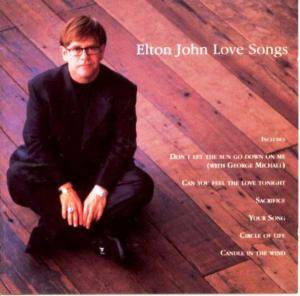 Elton John: Love Songs (Mercury) - Cover