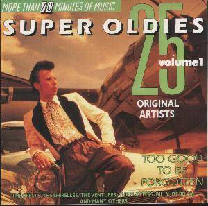 25 Super Oldies - Volume 1 - Cover