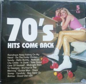 Cover - Ruby Winters: 70's Hits Come Back