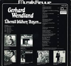 gerhard wendland berall bl hen rosen lp 1968 best of. Black Bedroom Furniture Sets. Home Design Ideas