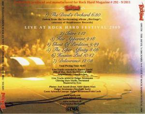 Opeth: The Devil's Orchard - Live At Rock Hard Festival 2009 (CD) - Bild 4