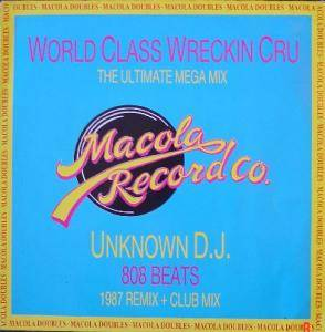 Cover - Unknown DJ, The: Macola Doubles