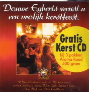 Cover - Various Artists/Sampler: Douwe Egberts - Kerst CD