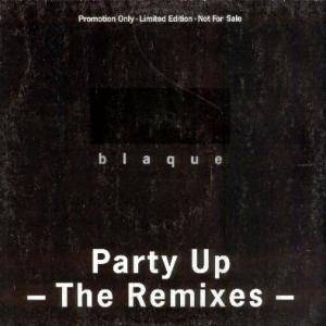 Blaque: Party Up - Cover