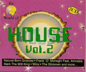 Cover - Frank 'O' Moiraghi Feat. Amnesia: World Of House Vol. 2, The