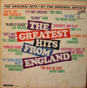 Cover - Kathy Kirby: Greatest Hits From England, The