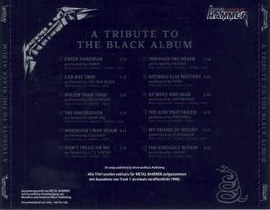 Metal Hammer Legenden - Metallica - A Tribute To The Black Album (CD) - Bild 4