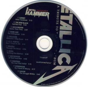 Metal Hammer Legenden - Metallica - A Tribute To The Black Album (CD) - Bild 5