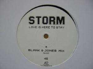 Cover - Storm: Love Is Here To Stay