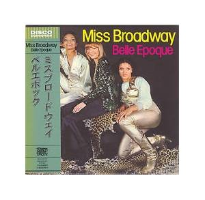 Belle Epoque: Miss Broadway - Cover