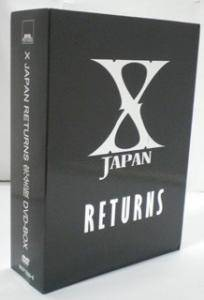 X Japan: Returns - Cover