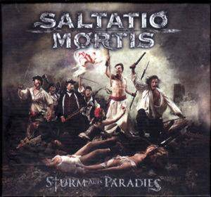 Saltatio Mortis: Sturm Aufs Paradies - Cover
