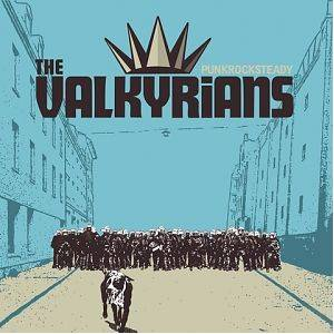 The Valkyrians: Punkrocksteady - Cover