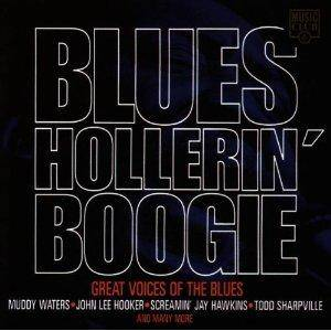 Cover - Todd Sharpville: Blues Hollerin' Boogie - Great Voices Of The Blues