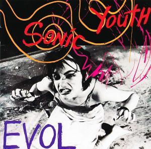 Sonic Youth: Evol - Cover